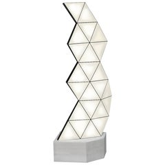 Contemporary Modular Floor Lamp Tri Light