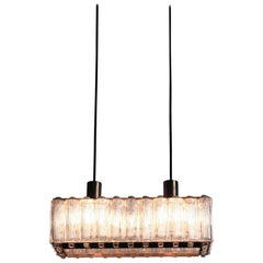 Rare Rectangular Pendant Nordlys Light by Eric Warna
