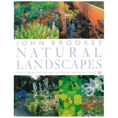 John Brookes' Natural Landscapes, First American Edition