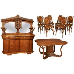 Art Nouveau Dining Suite