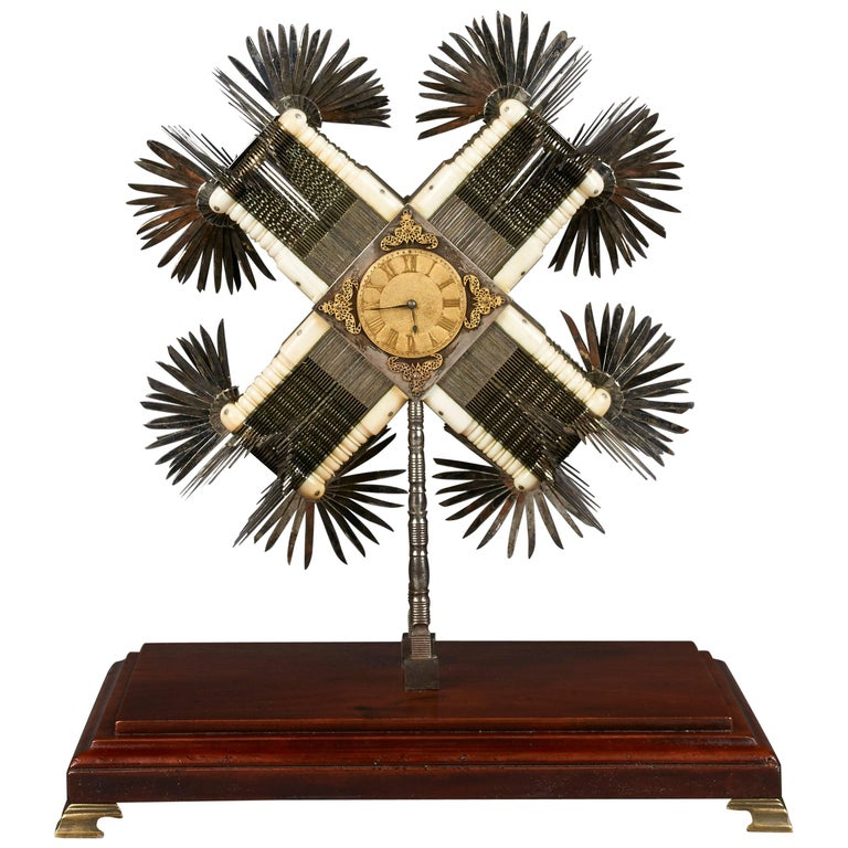 Exhibition Knife Clock, England, circa 1785