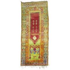 Vintage Turkish Eclectic Anatolian Rug