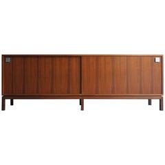 1950s Alfred Hendrickx Midcentury Design Rosewood Belgium Sideboard