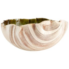 Large Unique Bowl by Bengt Berglund Made by Gustavsberg, Sweden