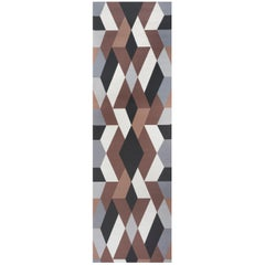 Schumacher Clements Ribeiro Deco Diamonds Geometric Carbon Wallpaper Panel Set