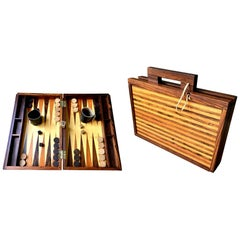 Rosewood Backgammon Board