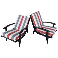 Italian Lounge Chairs for the Sorrento Hotel in Capri