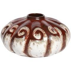 Dutch Art Deco Ceramic Vase by Gouda Plateelbakkerij