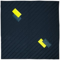 Three Quilt Collection Leather and Wool by Rafael De Cardenas & Mel Ottenberg