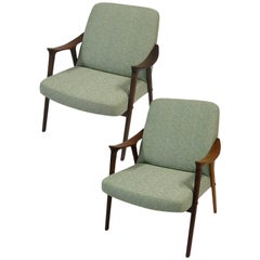 1960s Teak Lounge Chairs by Ingmar Relling for Westnofa, Norway