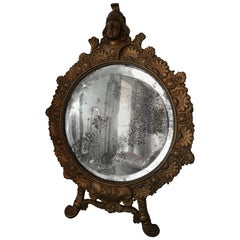 Antique Gold Vanity Mirror