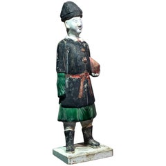 Chinese Ming Dynasty Pottery Official Figure, 17th Century
