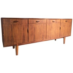 Stunning Gordon Russell R818 Rosewood Credenza Sideboard Lee Longlands, 1965