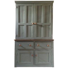 Fabulous Antique Housekeepers Cupboard Pine Victorian, 19th Century