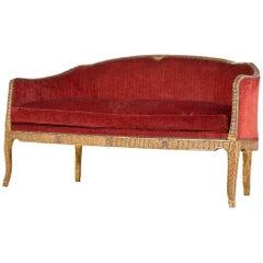 Rare 18th Century Italian Sofa