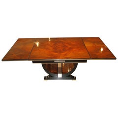 Art Deco Extendable Dining Table, France, circa 1930