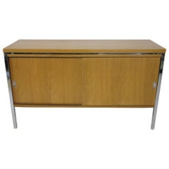 Stow Davis Small Credenza in the Manner of Knoll