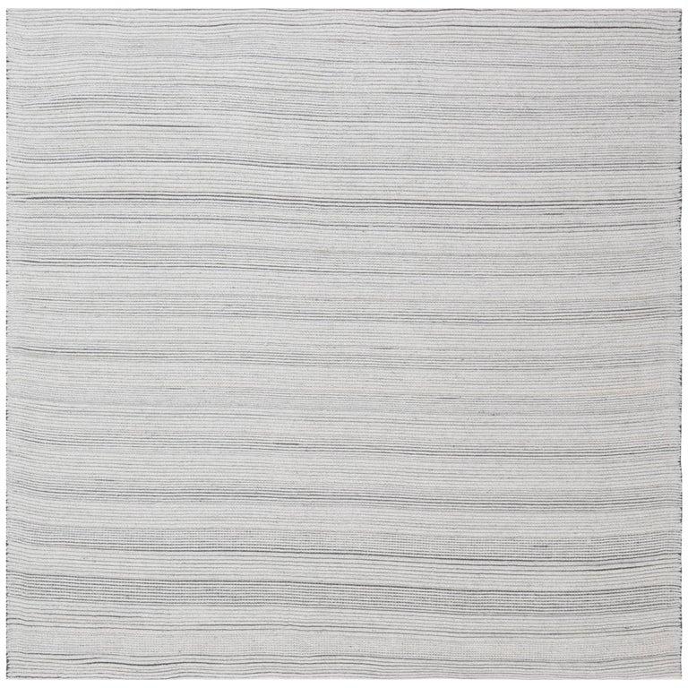 Bauer Collection Minimalist White Rug II
