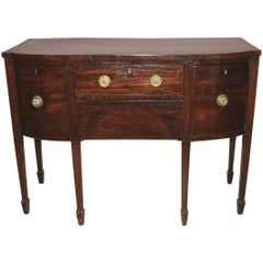 English Regency Mahogany Sideboard with Ebony Inlay, circa 1810