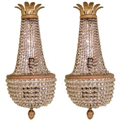 Pair of French Wall Sconces by Niermann Weeks