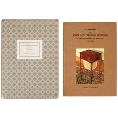 John & Thomas Seymour Cabinet Makers in Boston 1794-1816 with Supplement