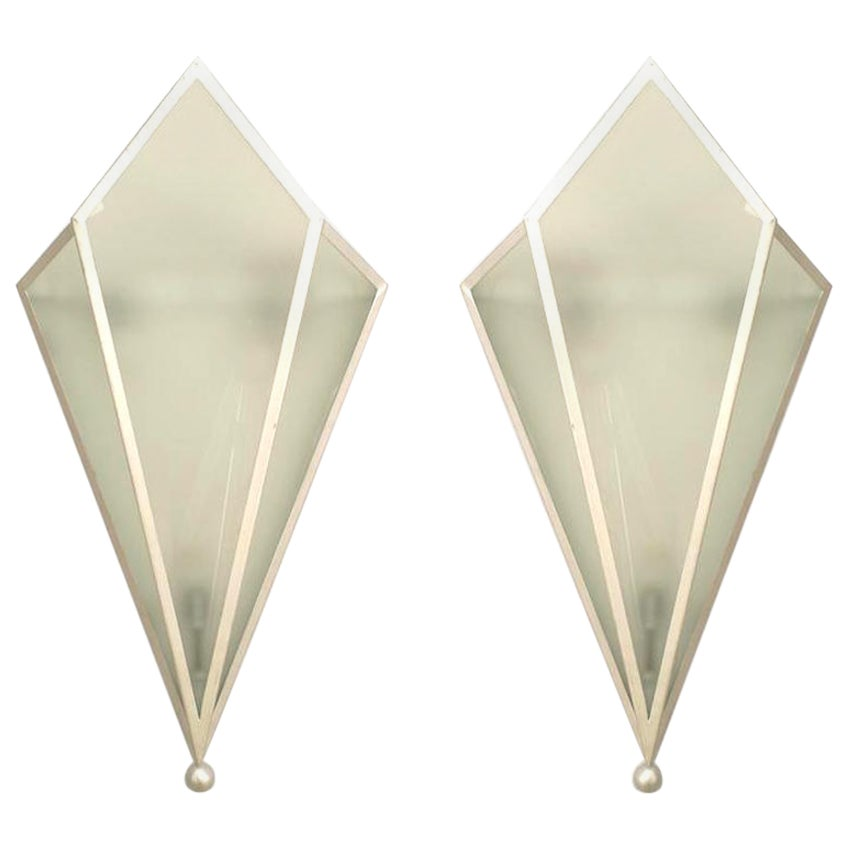 Pairs of Art Deco Style Wall Sconces