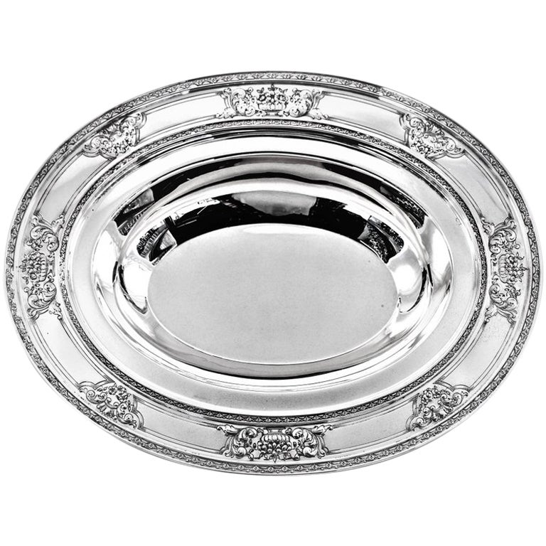 Sterling Silver Oval Dish