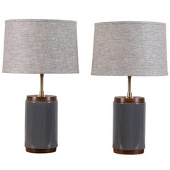 Pair of Porter Lamps by Stone and Sawyer for Lawson-Fenning