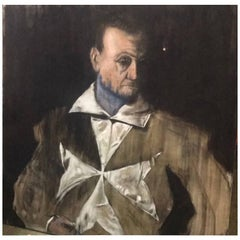Michael J. Dowling Contemporary Realist Canvas Oil Painting