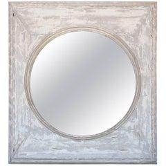 Mirror Made from Oak Window Frame