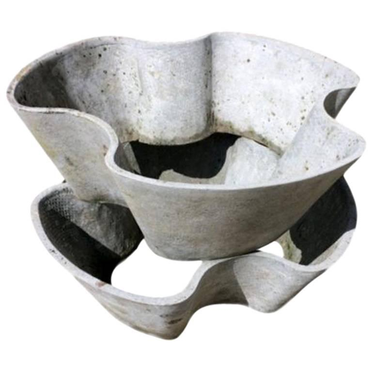 Set of 8 Willy Guhl Flower Pots