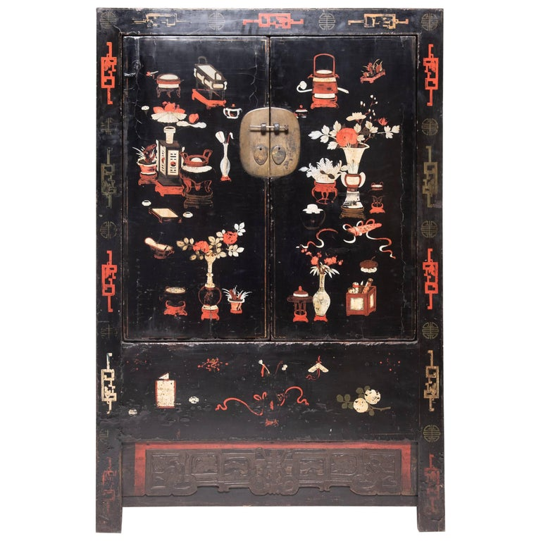 19th Century Chinese Scholars' Cabinet For Sale