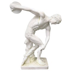 Discus Thrower Large-Scale Garden Statue