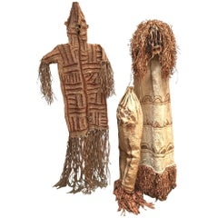 African Art The Pende Spirit Dance Ceremonial Tribal Mask and Costume from Congo