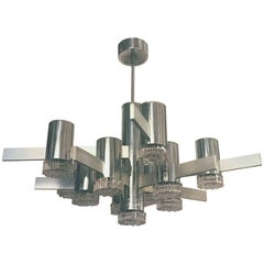 Geometric Series Chandelier by Sciolari