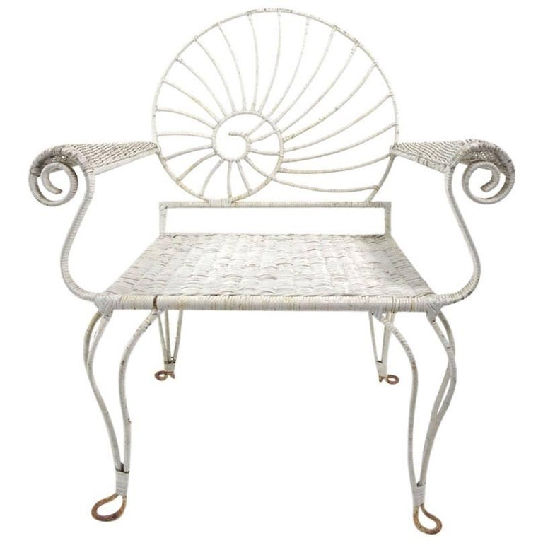 Nautilus Shell Back Arm Lounge Chair
