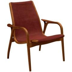 Vintage Yngve Ekström Lamino Lounge Chair