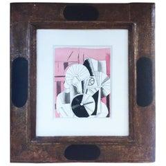 Fernand Léger, L'Homme et Les Disques, 1920