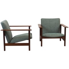 Pair of 1960s Armchairs by Steiner