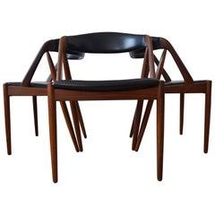 Kai Kristiansen #31 Midcentury Teak Dining Chairs