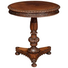 William IV Rosewood Pedestal Table
