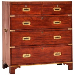 Campaigen Chest, Mahogany