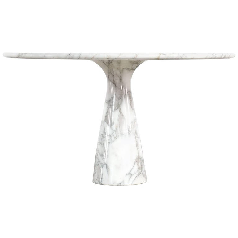 Angelo Mangiarotti Marble Dining Table, 1972 by Skipper, Italy