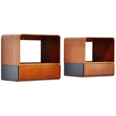 Friso Kramer Euroika Bed Cabinets Auping, 1963