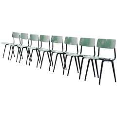 Friso Kramer Revolt Folding Chairs for Ahrend de Cirkel 1953