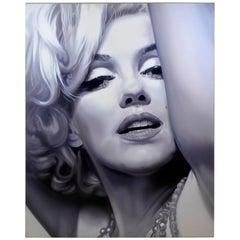 2010 Marilyn Monroe Acrylic on Canvas by Alberto Zamboni