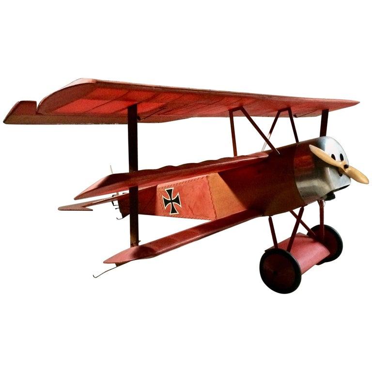 Details about Stunning Fokker Dr.1 Triplane Red Baron WW1 Aeroplane Model Plane