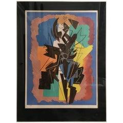 """""""Danse Espagnole"""" by Italian Futurist Artist Gino Severini"""