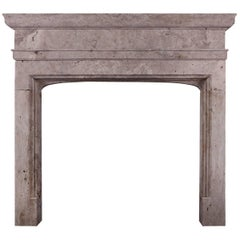 Rustic English Fireplace in the Gothic Manner