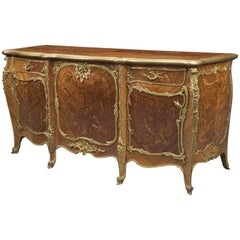 Louis XV Style Commode by François Linke, the Mounts Designed by Léon Messagé